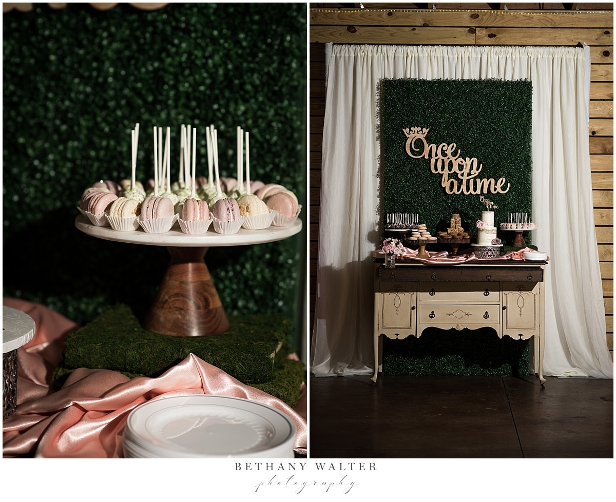 Plantation Oaks Wedding Reception Desserts by Alleycakes