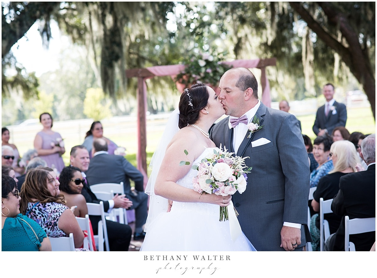 Second first kiss at Plantation Oaks