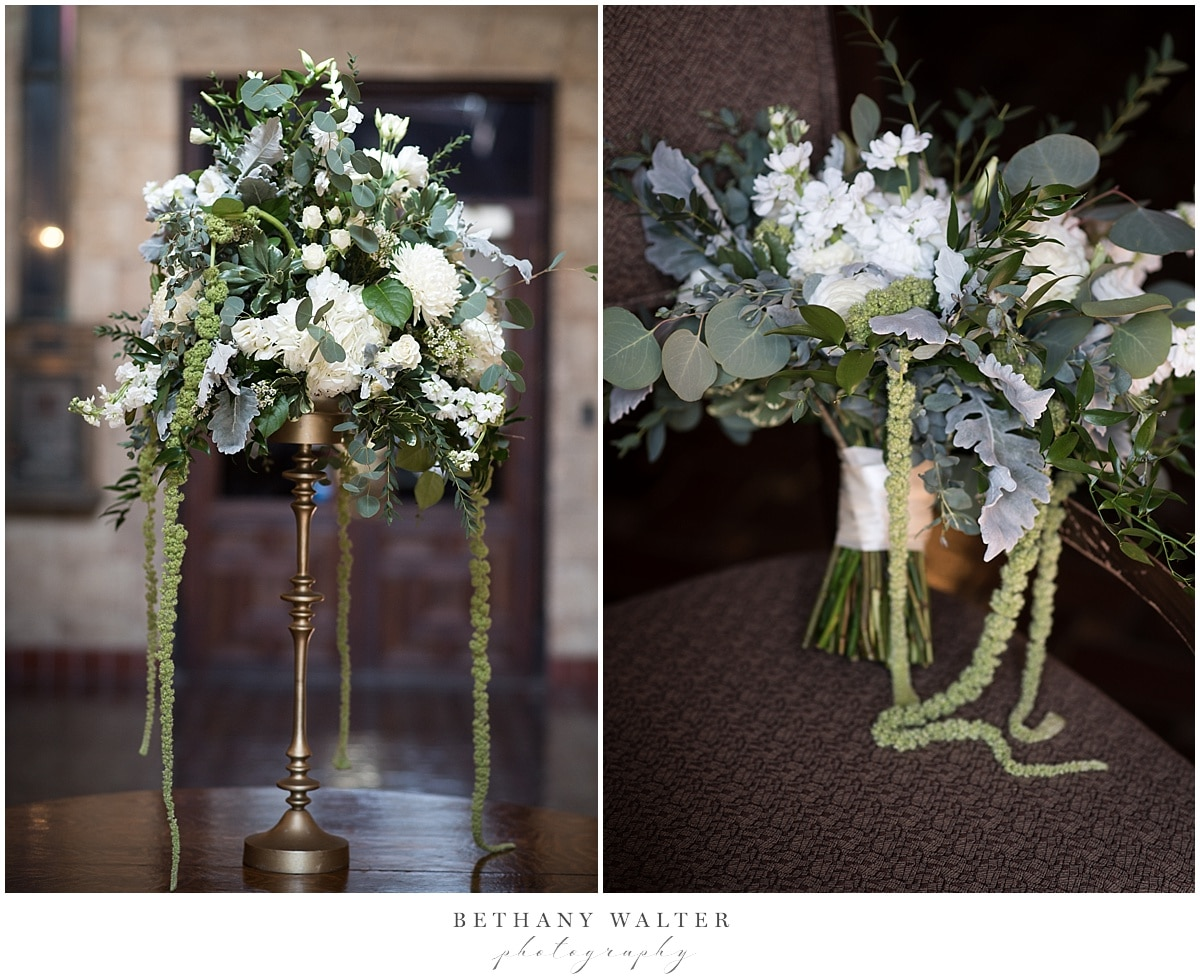 Treasury on the Plaza Wedding Florals