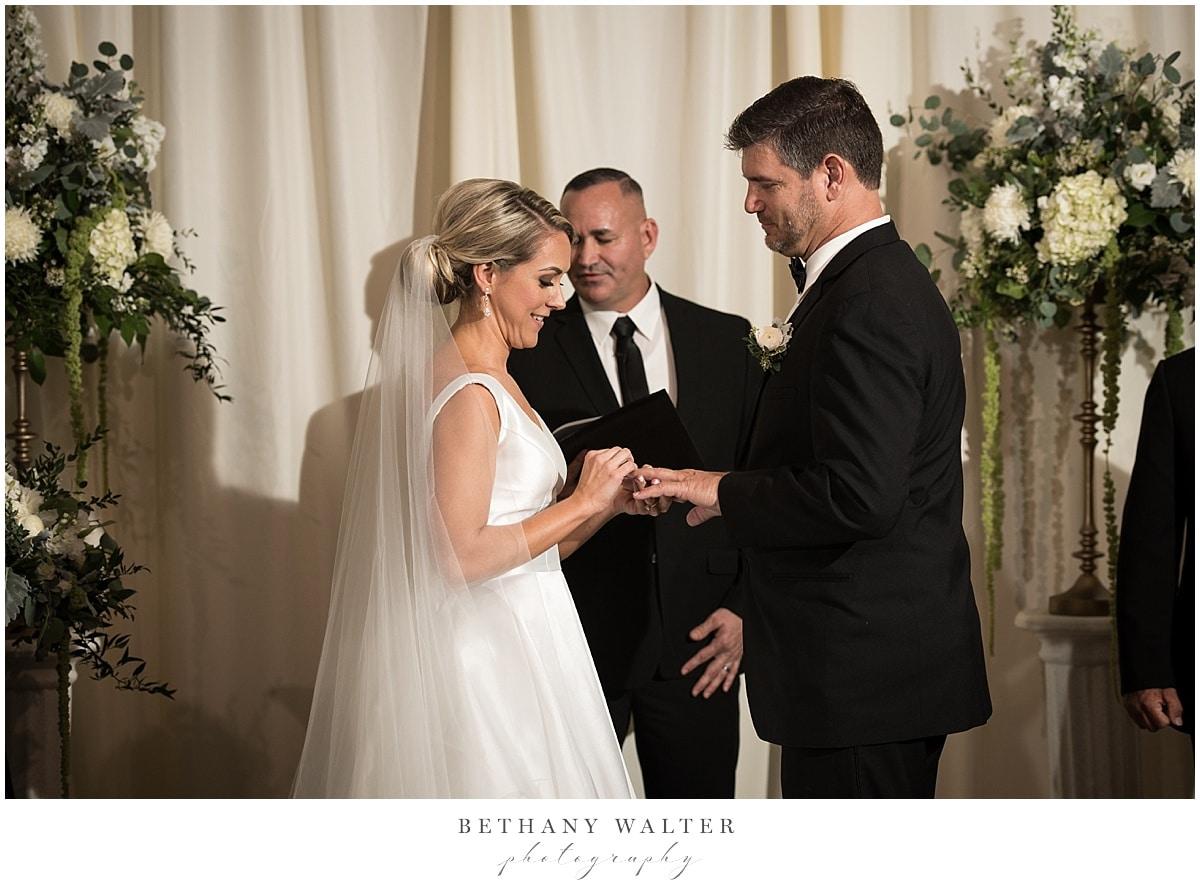 Wedding Ceremony at Treasury on the Plaza